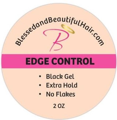 Edge control BLACK   2oz