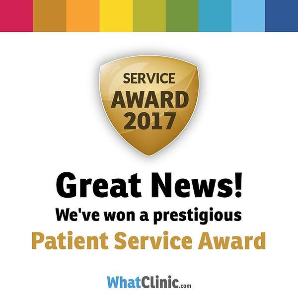 Страхотна новина! Спечелихме престижна награда за обслужване на пациенти!