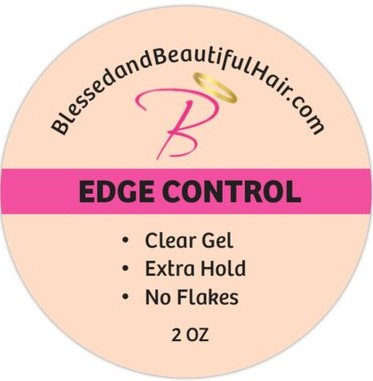 Edge control CLEAR  2oz