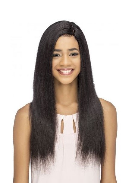 """BERIT  24"""" LAYERED STRAIGHT WITH INVISIBLE SIDE PART"""