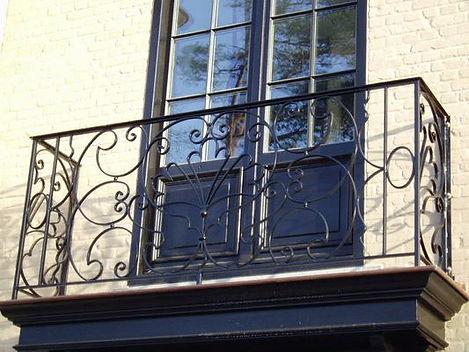 Balkons & ballustrades in smeedwerk