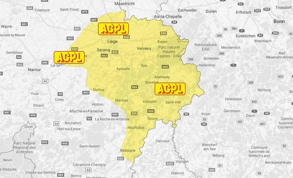Carte de livraison de mazout ACPL