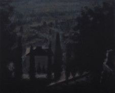 Volterra - 38.4 cm x 47.5 cm - Acrylic paint on plywood