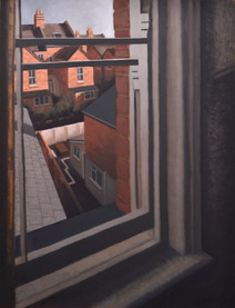 Room 6 - A clear cold morning - 86 cm x 66 cm - oil on board