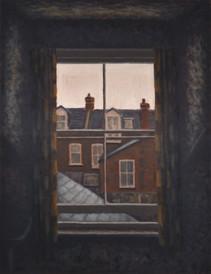 Room 6 - Overcast morning - 85.5 cm x 66 cm - oil on board