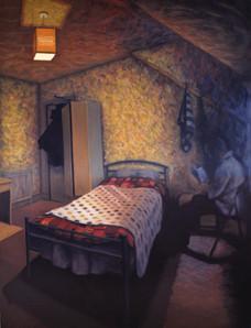 Room 6 - Last of the light - 66 cm x 86.3 cm - oil on boardom 6