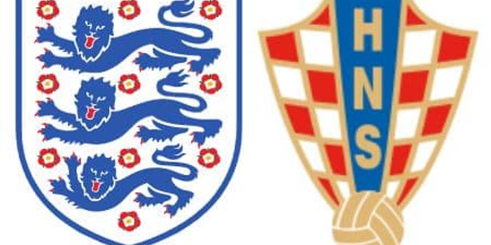 ENGLAND V CROATIA  (2PM KO)