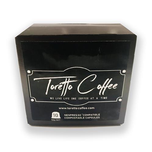 Toretto Coffee Pods