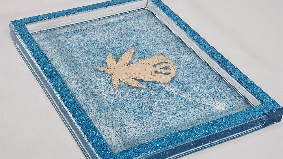 Sinderella Blue Tray