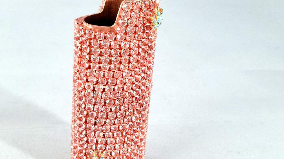 Blushing Pink lighter cover