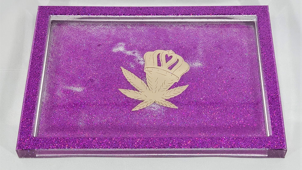Purple Reign Tray