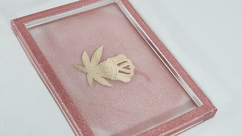 Rose Gold Tray