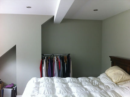 awkward before image of a sliding wardrobe