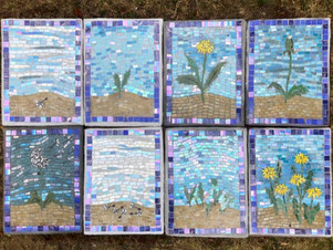 """Dandelion Days"" brings a new Storywalk to the Growing Center!"