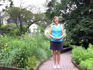 Martha Oesch brings Qigong back to the garden––as part of our 2020 Virtual Programming!