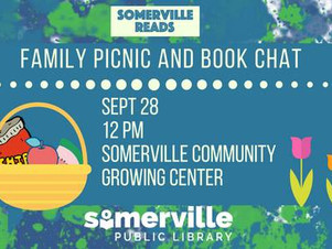 Somerville Reads Family Picnic and Book Chat