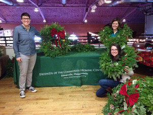 Holiday Wreath Sale Fundraiser