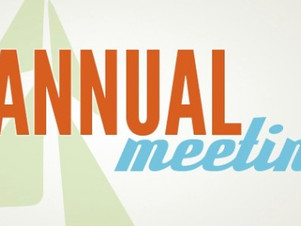 Annual Meeting & Potluck Luncheon