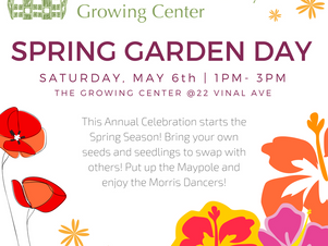 Annual Spring Garden Day (May 6th)