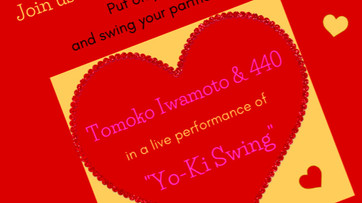 Tomoko Iwamoto and 440 Bring Swing Back to the Garden!