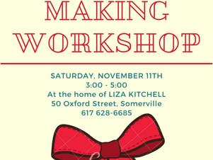 Bow Making Workshop - Volunteers Wanted!