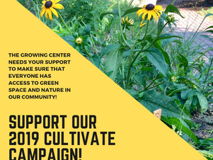 Cultivate Campaign 2019 Launch!