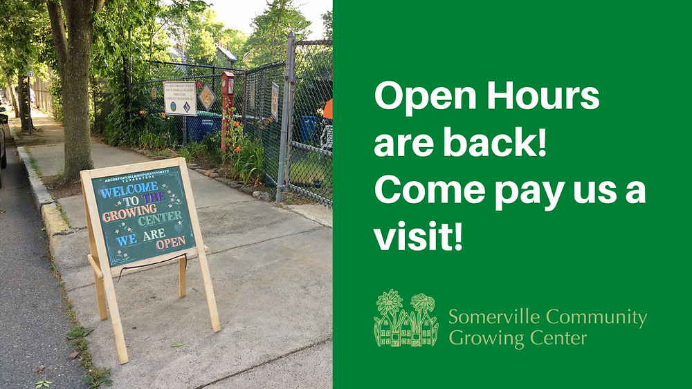Open Hours are back! Come pay us a visit!