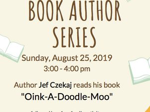 Our Children's Book Author Series continues with Jef Czekaj!