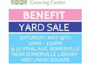 Benefit Yard Sale