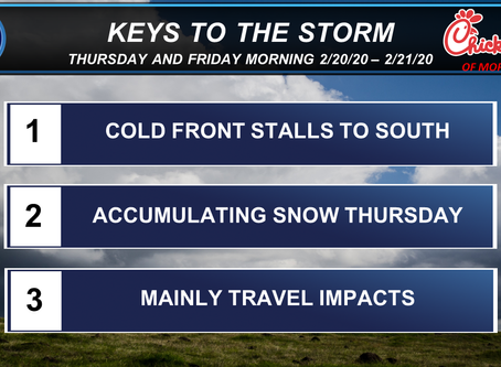Some Accumulating Snow Likely Thursday But Just How Much?