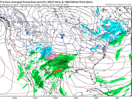 Potential Winter Storm Next Weekend. Saturday 12/1 Update