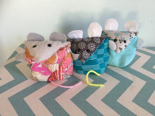 Weekly Sewing -  Juggling Mice  - 10/13 - (12:30-2:45) OR 10/14 (3:30-4