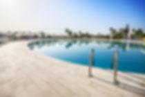Swimming pool of luxury hotel, Tunisia..