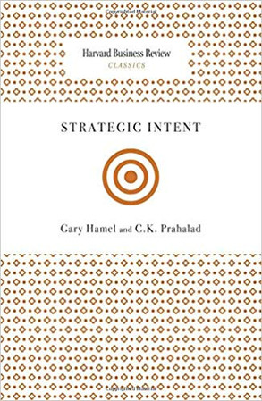 """Strategic Intent"" Gary Hamel and C.K. Prahalad"