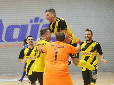 Futsal: Νίκη πρόκριση σήμερα για την ΑΕΚ