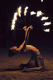 Fire Dancing in the Florida Keys