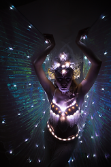 Glow LED Bellydance
