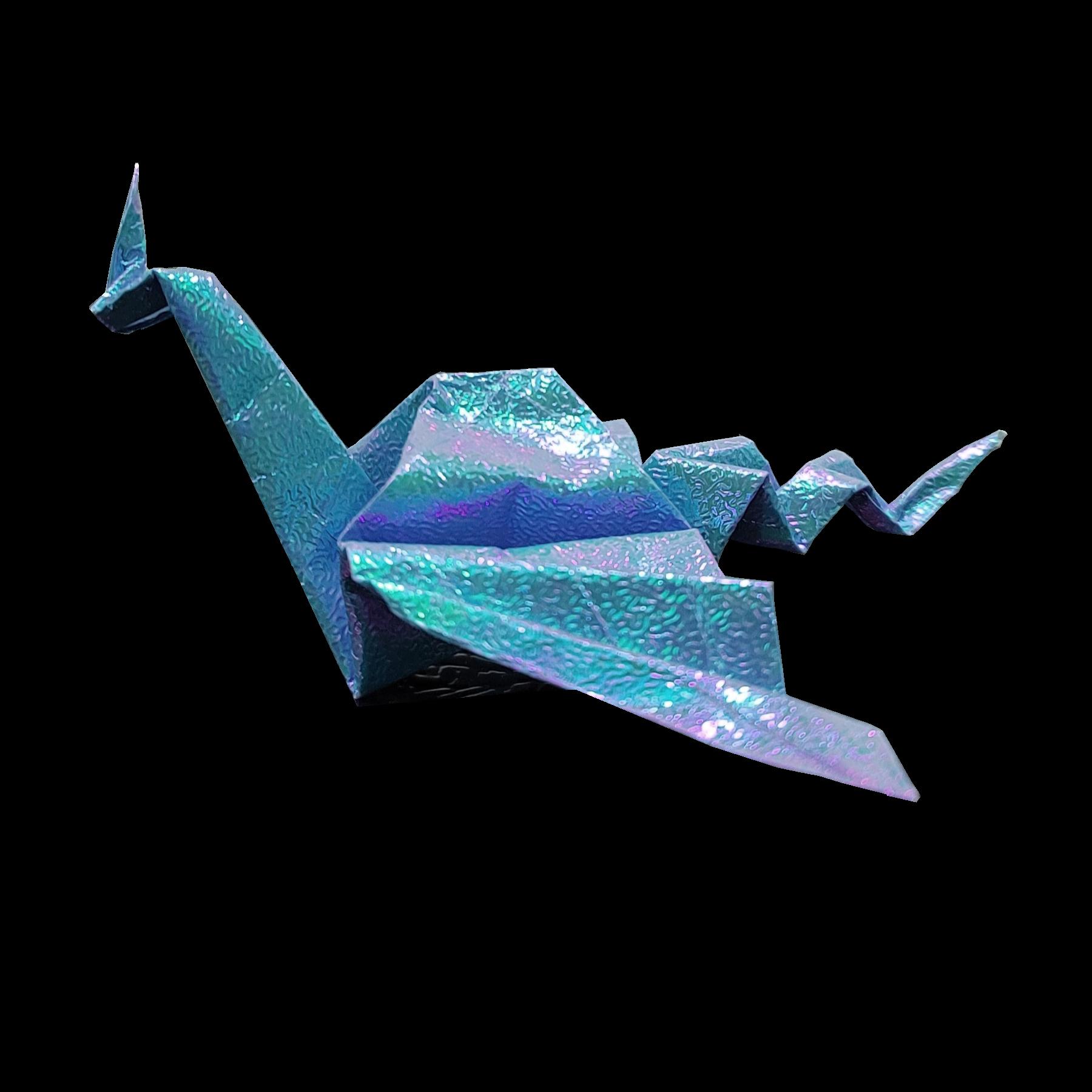 Blue Dragon, Side View
