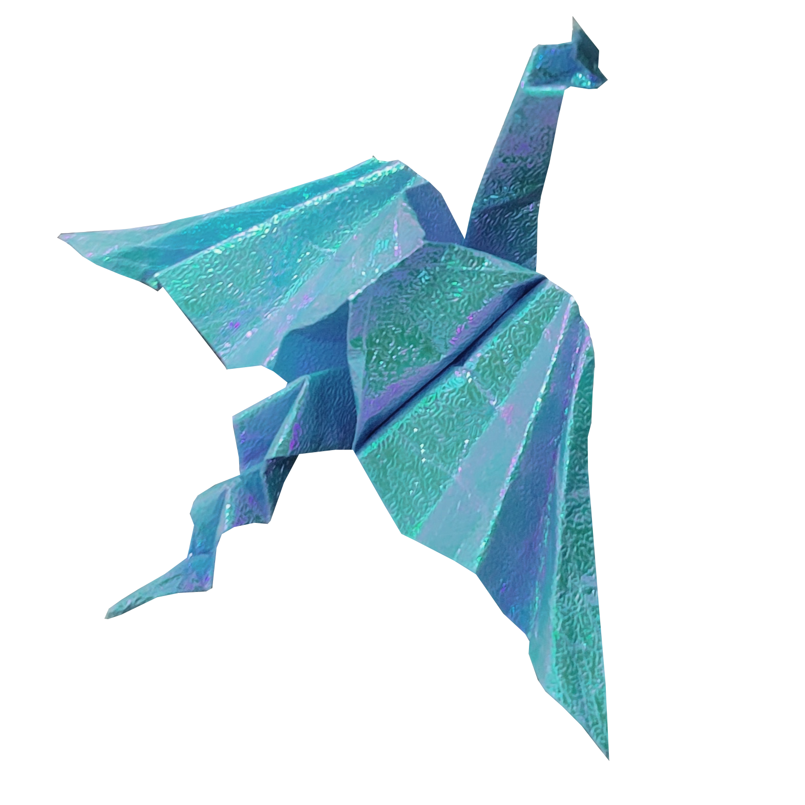 Blue Dragon, Top Down View - Angled