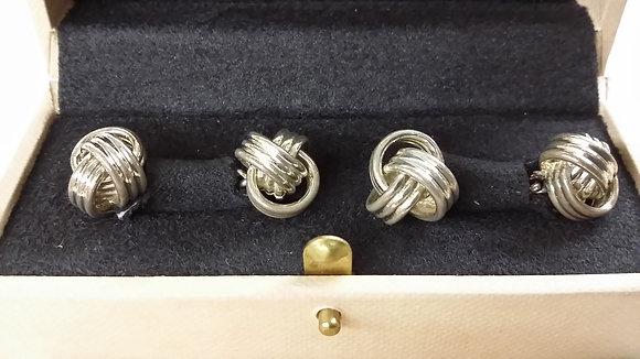Links of London Silver Knot Cufflinks