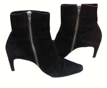 Stephane Kelian Black Suede Boots