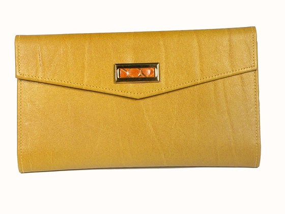 St Thomas Tan Leather Wallet
