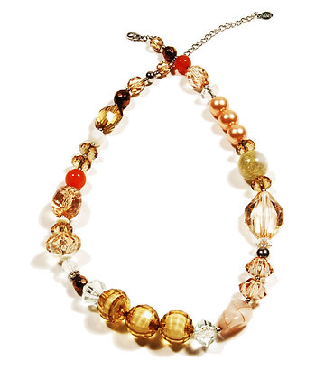 Bijoux Terner Lucite Beaded Necklace