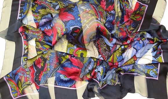 Castel Extra Large Silk Scarf