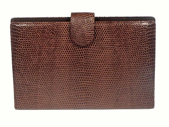 MOGA Brown Lizard Wallet