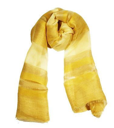 Missoni Gold Silk Flax Scarf