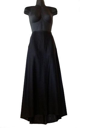 Jil Sander Long Black Skirt