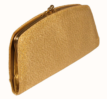Gold Fabric wallet