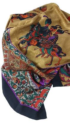 Fendi Silk Jacquard Scarf