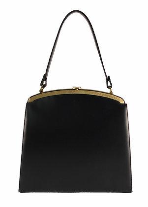 Susan Gail Black Leather Purse